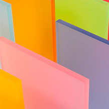 Metacrilato colada colores satinado