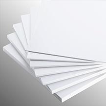 PVC Compacto Blanco Brillante