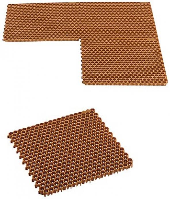 Loseta plastico nido de abeja 503x486x20 for Precio de loseta
