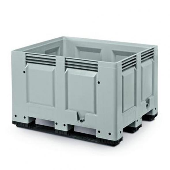 SUPER BOX, BIG BOX CERRADO 3 PATINES 1200x1000x790 GRIS