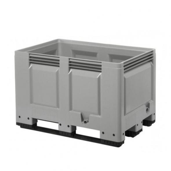SUPER BOX CERRADO 3 PATINES 1200x800x790 GRIS