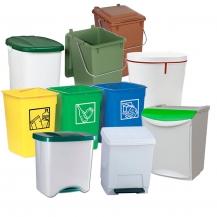 Cubos basura pequeños