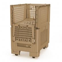 CONTENEDOR DINAMYC SHIPPER BOX 800X600X88